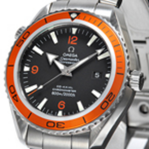Replica Omega Seamaster Planet Ocean 45mm Automatisk 2208.50.00