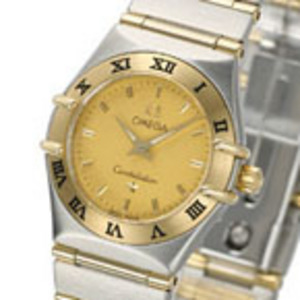 Replica Omega Constellation Two Tone Mini Ladies Watch 1262,10